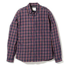 White Mountaineering - COTTON TWILL CHECK SHIRT