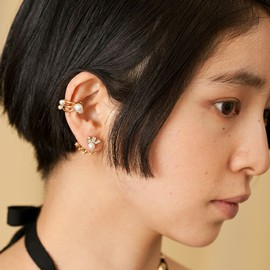 mother - mother(マザー)の◇mother×LuiiRe PEARL EARCUFF (イヤリング)|詳細画像