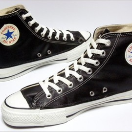 Converse - 1990′s Deadstock Converse All Star Leather Hi