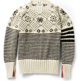 Thom Browne - Fair Isle Wool Sweater