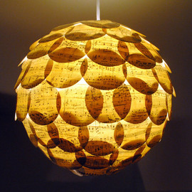 NaturallyHeartfelt - Pop Classics love and light paper lantern hanging pendant lampshade light shade