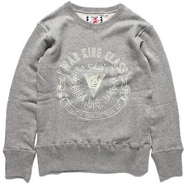 SON OF THE CHEESE - Sweat/Parka/Outer(スウェット/パーカー/アウター)のSON OF THE CHEESE / WARKING CREW(スウェット) グレー