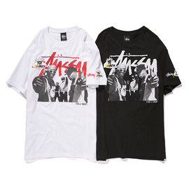 Stussy - Yo! MTV Raps Tee (Public Enemy) - White