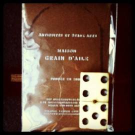 MAISON GRAIN D'AILE 〜buying product from France - ドミノ牌