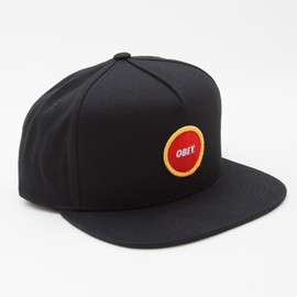OBEY - CIRCLE PATCH SNAPBACK