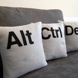 Ctrl+Alt+Del Pillows