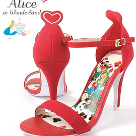 RANDA - Disney Alice in Wonderland●Queen of hearts sandals