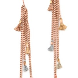 shashi - Lilu Chain Earrings