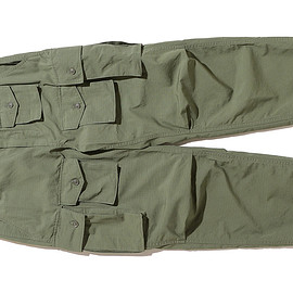 ENGINEERED GARMENTS - FA Pant-Cotton Ripstop-Olive