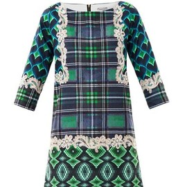 emma cook - Bargello-print shift dress