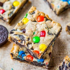 Sweets - Cookies with Oreo's and m&m's