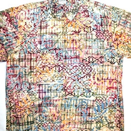 VINTAGE - Vintage early 90s Colorful Button Up Shirt Mens Size Large
