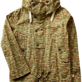 ANALOG LIGHTING - USN deck Parka  (beige tiger)