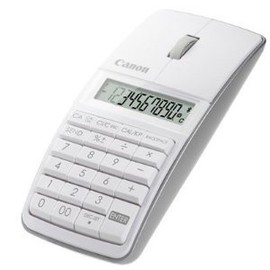 Canon - 5565B002 X Mark I Mouse Slim Computer Link Calculator (White)