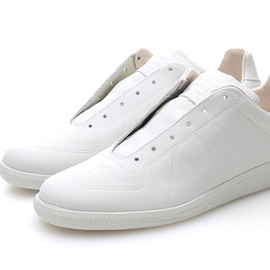 Maison Martin Margiela - Margiela White Leather Sneaker