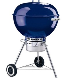 Weber - バーベキューグリル57cm ダークブルー One-Touch Gold Charcoal Grill Dark Blue