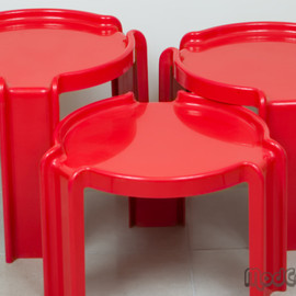 Kartell - table set - Giotto Stoppino