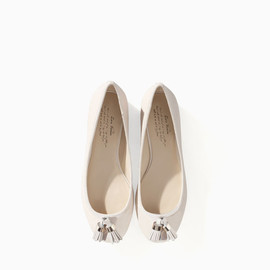 ZARA - SOFT LEATHER BALLERINA FLATS