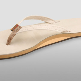 Rainbow Sandals - Premier Leather Narrow Strap Sand
