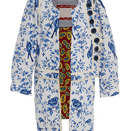 Alix of Bohemia - Limited Edition Birdsong Floral Coat