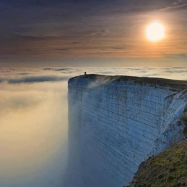 East Sussex, UK - Beachy Head