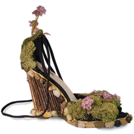 MerloDesigns - Nature Forest Wedge Heels