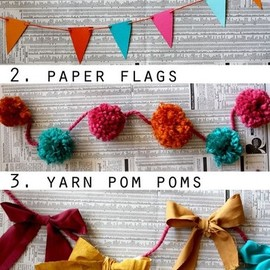 DIY - Garlands / 10 Ways