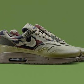 Nike - NIKE AIR MAXIM 1 + FRANCE CC SP MEDIUM OLIVE/DARK ARMY