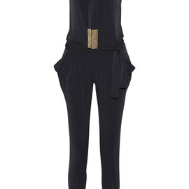 MICHAEL MICHAEL KORS - Embellished stretch-jersey jumpsuit