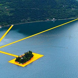 Lago di Iseo - The floating Pier