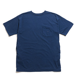 THE NORTH FACE PURPLE LABE - 7oz H/S Pocket Long Tee-Light Navy