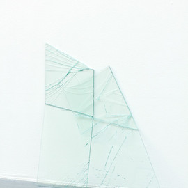 Johan Eldrot - Untitled, a part of Gestures, Dialogues Series, 2011, laminated glass