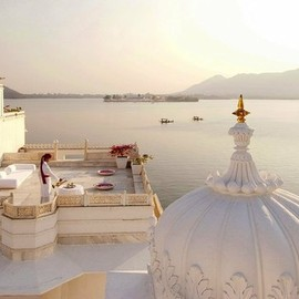 India  - Princely Suite at Taj Lake Palace