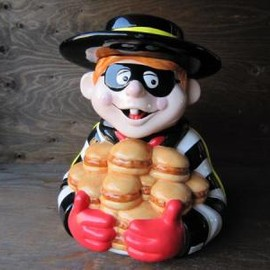 McDonald's - Hamburglar Cookie Jar