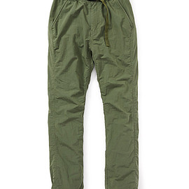 nonnative - COACH EASY PANTS C/N PIQUE TYPEWRITER