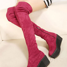 2013 Women Winter Thick Soled Platform Long Celebrity Boots