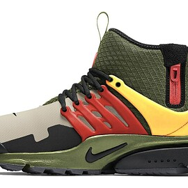 NIKE - Air Presto Mid Utility - Carbon Green/Black/Ghost/Pollen