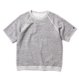 nanamica×Champion - Half Sleeves Sweatshirt