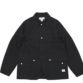 SASSAFRAS - Fall Leaf Jacket-Weeds Poplin-Black