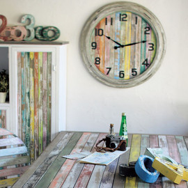 SPICE - Colors   Colorful Worn Wood Home Decor