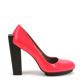 UNITED NUDE - Block Pump Hi Fluo Red Patent Leather