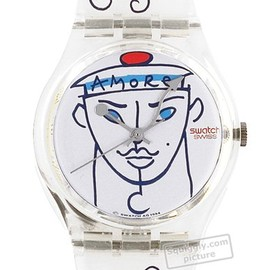 Swatch - Flowers (Lindsay Kemp) GK207 - 1995 Fall Winter Collection