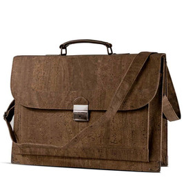 "Corkor - Briefcase for Men in Cork for 15"" Laptop by Corkor"