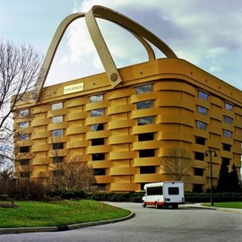 Ohio, US - The Basket Building