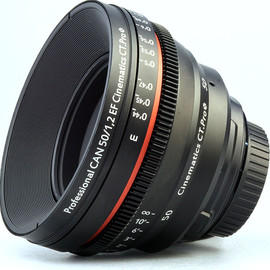 cinematics - CINE LENS CANON 50MM/F1.2 II