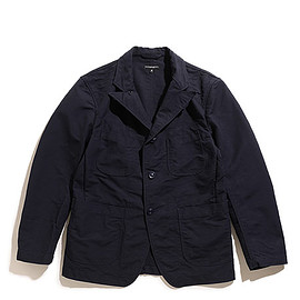 ENGINEERED GARMENTS - Bedford Jacket-Cotton Double Cloth-Dk.Navy