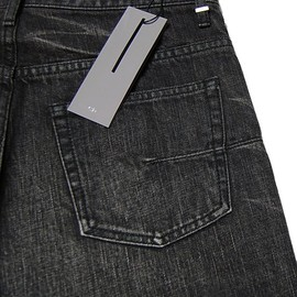 DIOR HOMME - WASHED BLACK DENIM
