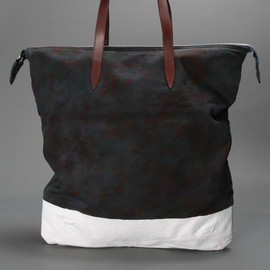 dries van noten - bag camouflage shopper