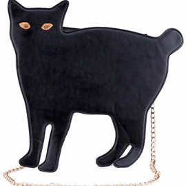 ROMWE - Cat shaped Black Bag