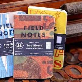 Field Notes - Two Rivers edition